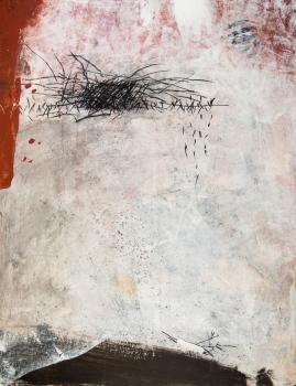 65 x 50 cm, technique mixte, papier marouflé sur toile - 2016