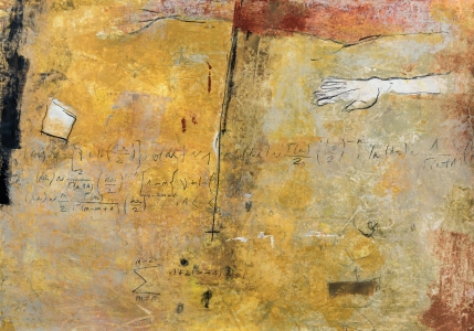 100 x 70 cm, technique mixte sur papier marouflé sur toile